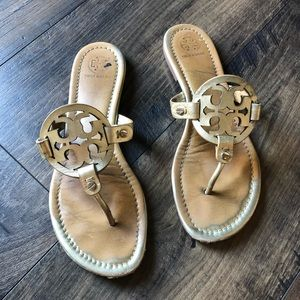 Tory Burch Millers Gold Size 8